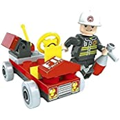 Fire Brigade 31pc Ausini Educational Building Blocks Set Compatible To Lego Parts Best Gift For Boys And Girls
