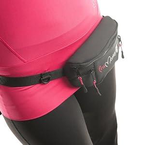 pink monkey sac banane pour femme noir sports et loisirs. Black Bedroom Furniture Sets. Home Design Ideas