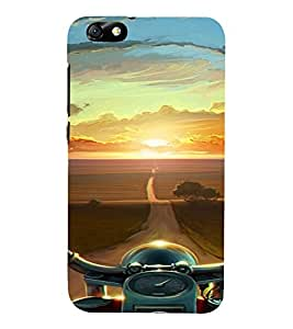 PrintVisa Pink Pattern 3D Hard Polycarbonate Designer Back Case Cover for Huawei Honor 4X