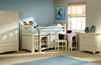 Julian Bowen Cameo Sleep Station, Stone White