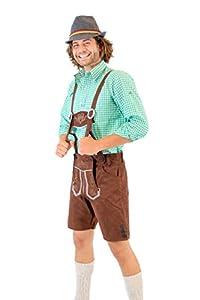 Oktoberfest German Bavarian Lederhosen Costume Shorts (36)