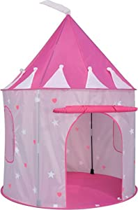 amazon princess pop up tent