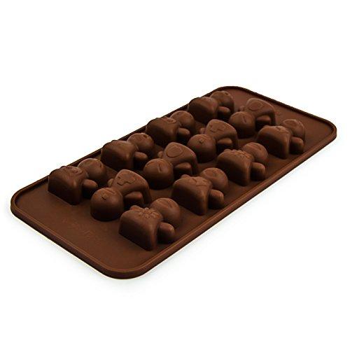 Moule-en-silicone-au-design-bande-dessine-Chocolat-massepain-glaons-mini-muffins-moule--pralines-bande-dessine-Bonhomme-medicament-rigolo-forme-enfants-Anniversaire-la-devise-Party-Back-Couleur-Marron