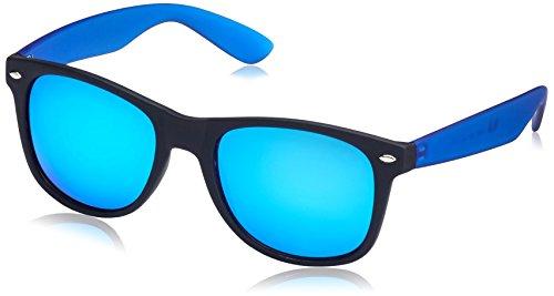 MSTRDS Likoma Mirror, Occhiali da Sole Unisex-Adulto, Mehrfarbig (Black/Royal/Blue 4690), Taglia Unica