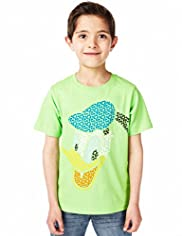 Pure Cotton Donald Duck T-Shirt