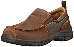 Timberland Discovery Pass Moc Toe Moc Toe Slip-On (Toddler/Little Kid/Big Kid),Brown,11 M US Little Kid
