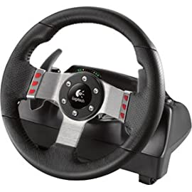 Logitech G27 Gaming Steering Wheel. G27 RACING WHEEL G-ACCS. Cable - USB - PC, PlayStation 2, PlayStation 3