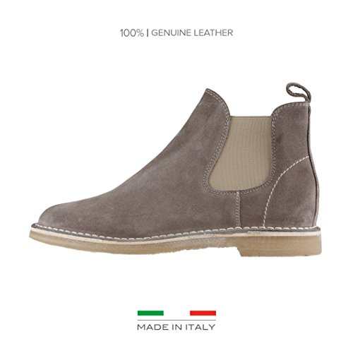 Made In Italia Giacomo, Stivali uomo grigio Size: EU 43