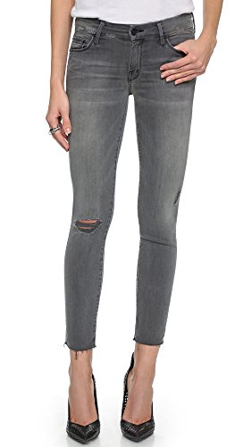 MOTHER Women's Looker Skinny Ankle Fray Jeans, Last Chance Saloon, 26