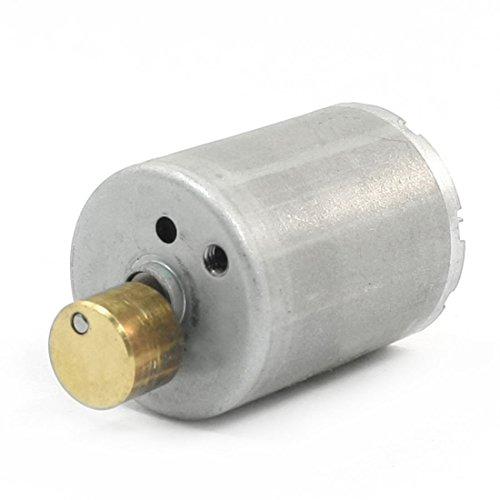 Uxcell DC 12V 4600R/Min Speed Round Shaft Micro Vibrating Vibration Motor