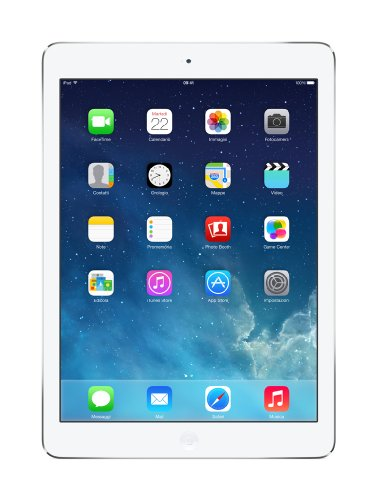 Apple iPad Air 1 Tablet 16GB, Wi-Fi/LTE, Argento [Italia]