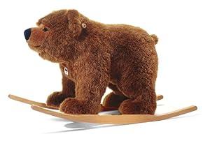 Steiff 48920 - Balancín, diseño de oso de peluche en BebeHogar.com