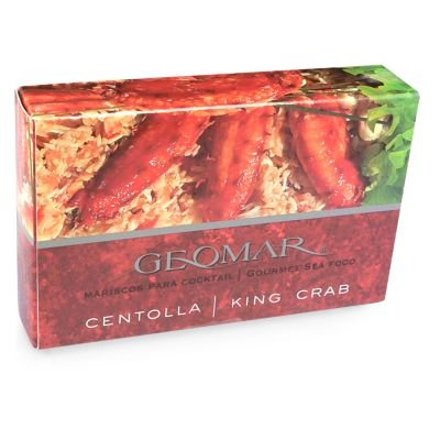 Geomar Centolla/King Crab Leg Meat (3.2 oz/100 g tin)