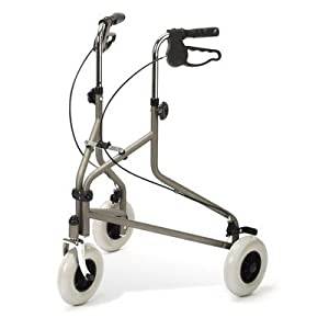 Medline G07981Th Tri-Wheeled Rollators, Titanium from Medline