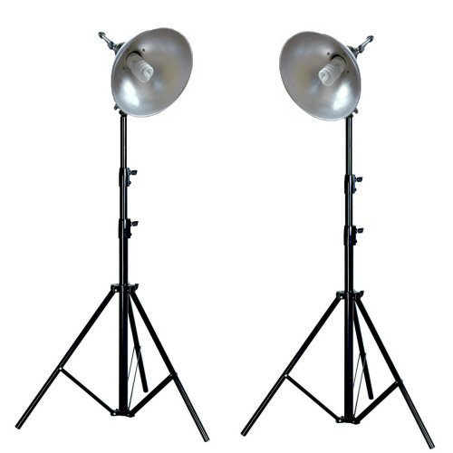 Ex-Pro Photo Professional Day Maxi Pro Light Set Lighting Kit for Photo Tents for White back photogr