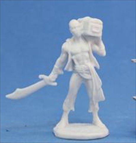 Grim Reaper miniature 77,134 Bones - Hajad, pirate