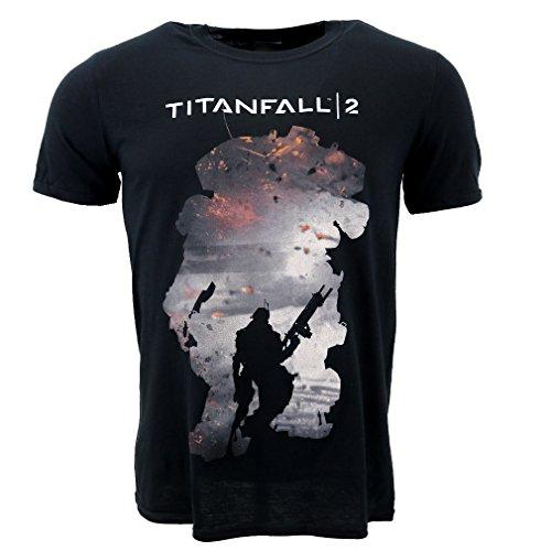 Titanfall 2 Regie Silhouette maglietta Ufficiale autorizzato Game