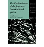 img - for [(The Establishment of the Japanese Constitutional System )] [Author: Junji Banno] [Jun-1992] book / textbook / text book