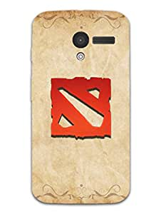 Dota 2 Minimal - Hard Back Case Cover for Moto X - Superior Matte Finish - HD Printed Cases and Covers