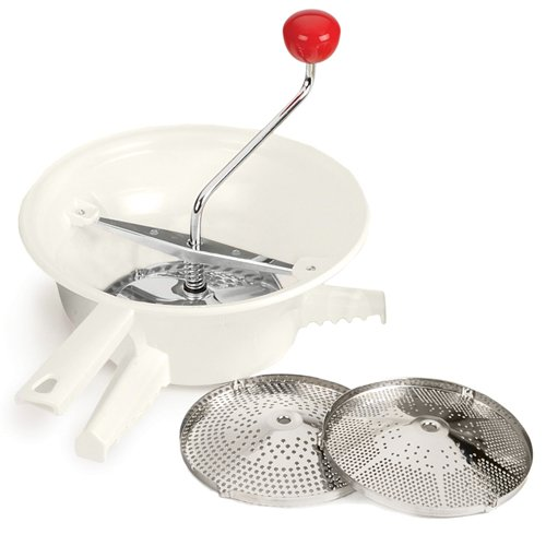 Classic Rotary Style Food Mill With 3 Stainless Steel Blades front-549907