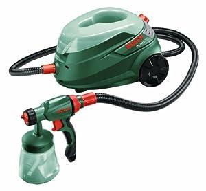 Bosch PFS 105 E HomeSeries Feinsprühsystem + 600 und 800 ml Behälter + TrainingsDVD (350 W, 0150 g/min)  BaumarktÜberprüfung und Beschreibung