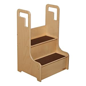 Wooden Step Stool - Assembled from Sprogs