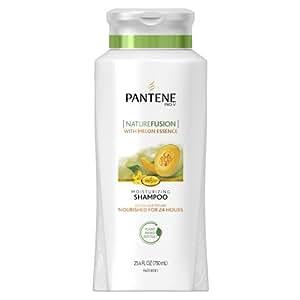 Pantene Pro-V Nature Fusion Moisturizing Shampoo with Melon Essence, 25.4 Fluid Ounce (Pack of 2)