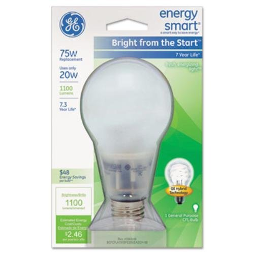 GE Energy Smart 20 Watts Soft White General Purpose Light Bulb 2017 ten light color hobo japanese light amount notes the books envelope contain within core general purpose student notebook