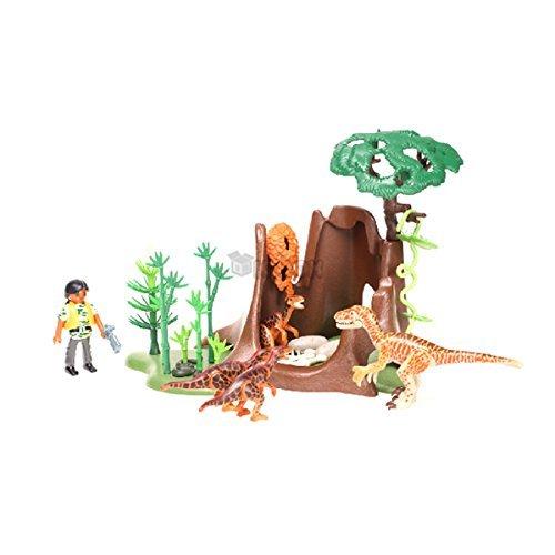 Play Mobil deyinonikuseu and Velociraptor (5233)