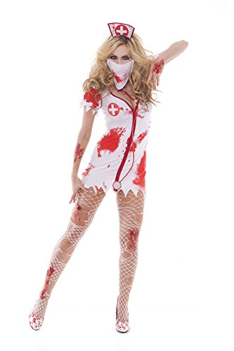 Sexy Bloodbath Betty Women's Nurse Adult Roleplay Costume