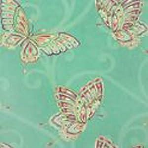 k2 papier peint mural motif papillon bleu turquoise. Black Bedroom Furniture Sets. Home Design Ideas