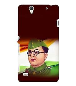 printtech Netaji Subhash Chandra Bose Indian Back Case Cover for Sony Xperia C4 Dual E5333 E5343 E5363::Sony Xperia C4 E5303 E5306 E5353