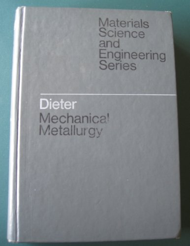 Large book cover: Mechanical Metallurgy