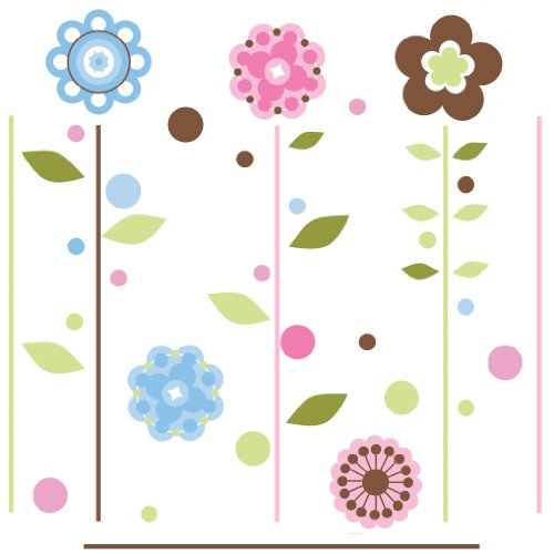 Flower Murals For Kids Room front-899574