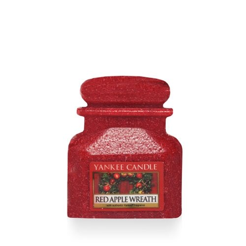 Red Apple Wreath Jar Wax Melts - Yankee Candle