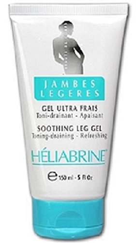 Heliabrine Refreshing Leg Gel 150ml. Top Rated Varicose Veins Treatment With 100% Natural Ingredients It Will Calm Your Tired & Burning Legs. Improves Blood Circulation, Long-Time Standing, Overweight, and Air Travels. Get Rid Of Thread Veins, Spider Veins, Burning Feet, Aching Leg Muscles, Burning Leg Pain, Legs Burning includes GINKGO-BILOBA -which is an potent ingredient helps with blood circulation.
