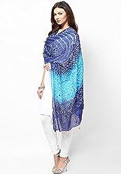 Soundarya Ethnicwear Cotton Bandhej Handwork Dupatta for Women (3054)