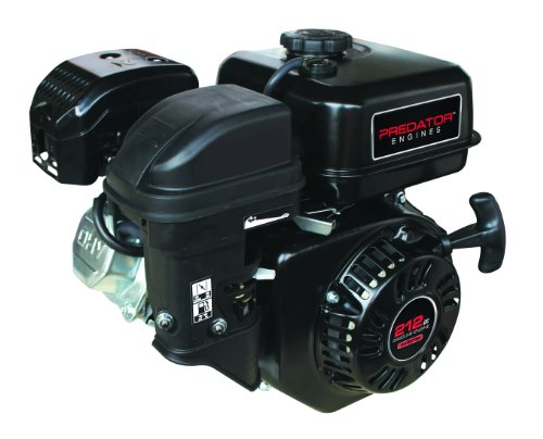 Predator 6.5 HP 212cc OHV Horizontal Shaft Gas Engine - NOT Certified for California; Fuel Shut Off and Recoil Start picture