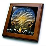 Florida, Orlando. Epcot Center at Walt Disney World - US10 BBA0072 - Bill Bachmann - 8x8 Framed Tile