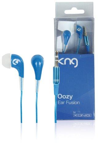 KNG Oozy Ear Fusion Designer Earphones - Blue