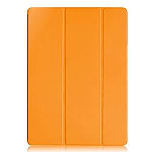 KHOMO iPad Pro Case 12.9 Inch - DUAL Orange Super Slim Cover with Rubberized back and Smart Feature (Built-in magnet for sleep / wake feature) For Apple iPad Pro 12.9'' Tablet ... from KHOMO