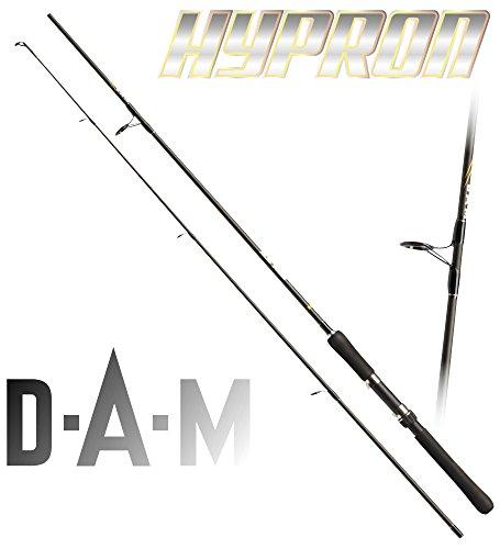 DAM Hypron SPIN, 3.00m, 40-80g - Canna da spinning + gratis K-DON pesce gomma