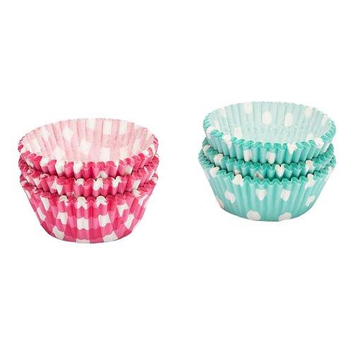 Patisse 1777 papel-cup-Cake-moldes cuadros/círculos, 200 pcs