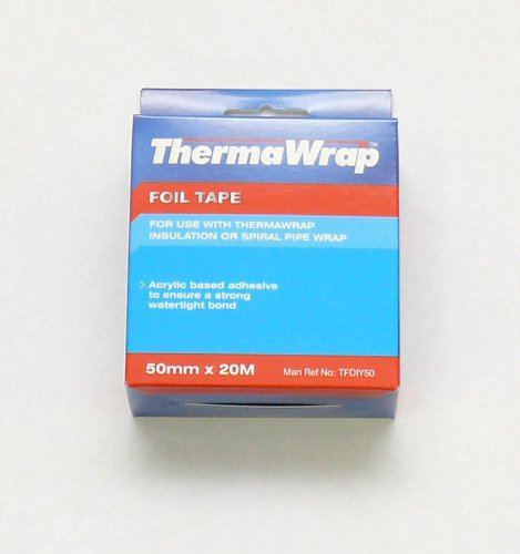 thermawrap-20m-x-50mm-x-20-x-30m-foil-tape-acrylic-based-adhesive-to-ensure-strong-watertight-bond