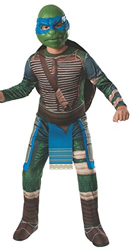 Official Men's Teenage Mutant Ninja Turtles Costume with padded muscle chest.