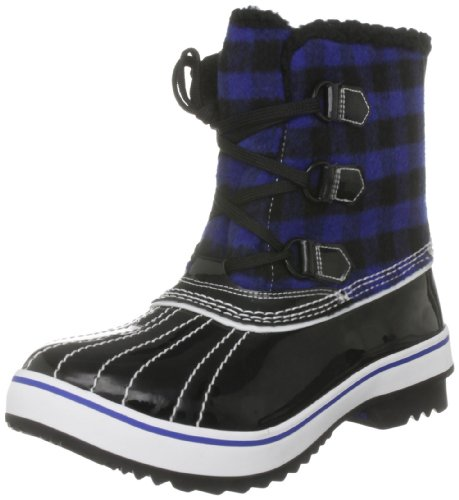 Skechers Women's Highlanders Ice Pack Black Lace Up Boot 47301 5 UK