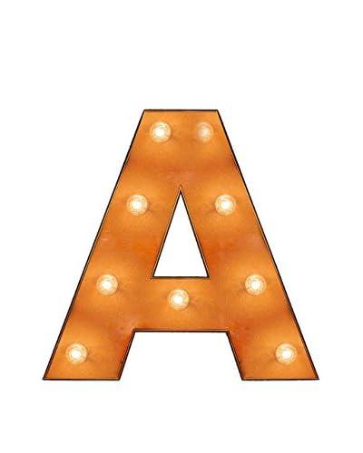 "Really Nice Things Panel Decorativo Luminoso ""A"" With Light"