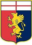 Genoa Italy Soccer Football Sticker 10X12cm