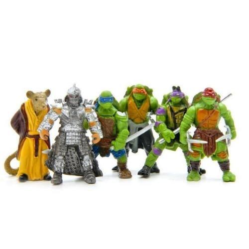 Gift 6Pcs Teenage Mutant Ninja Turtles TMNT Action Figures Collection Toys Set