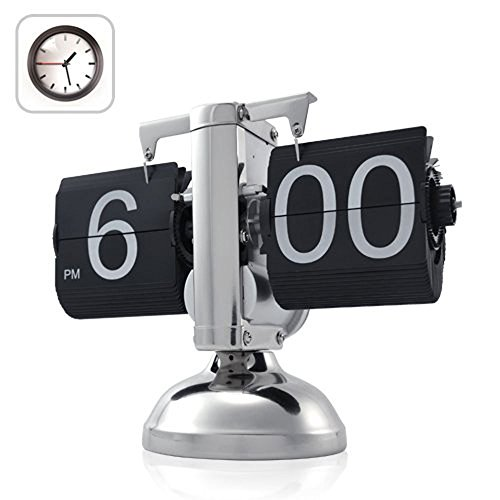 EconoLed Retro Flip Down Clock - Internal Gear Operated (Gear Alarm Clock compare prices)